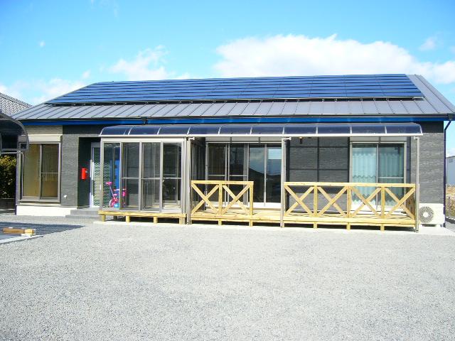 太陽光のあるオール電化住宅です!